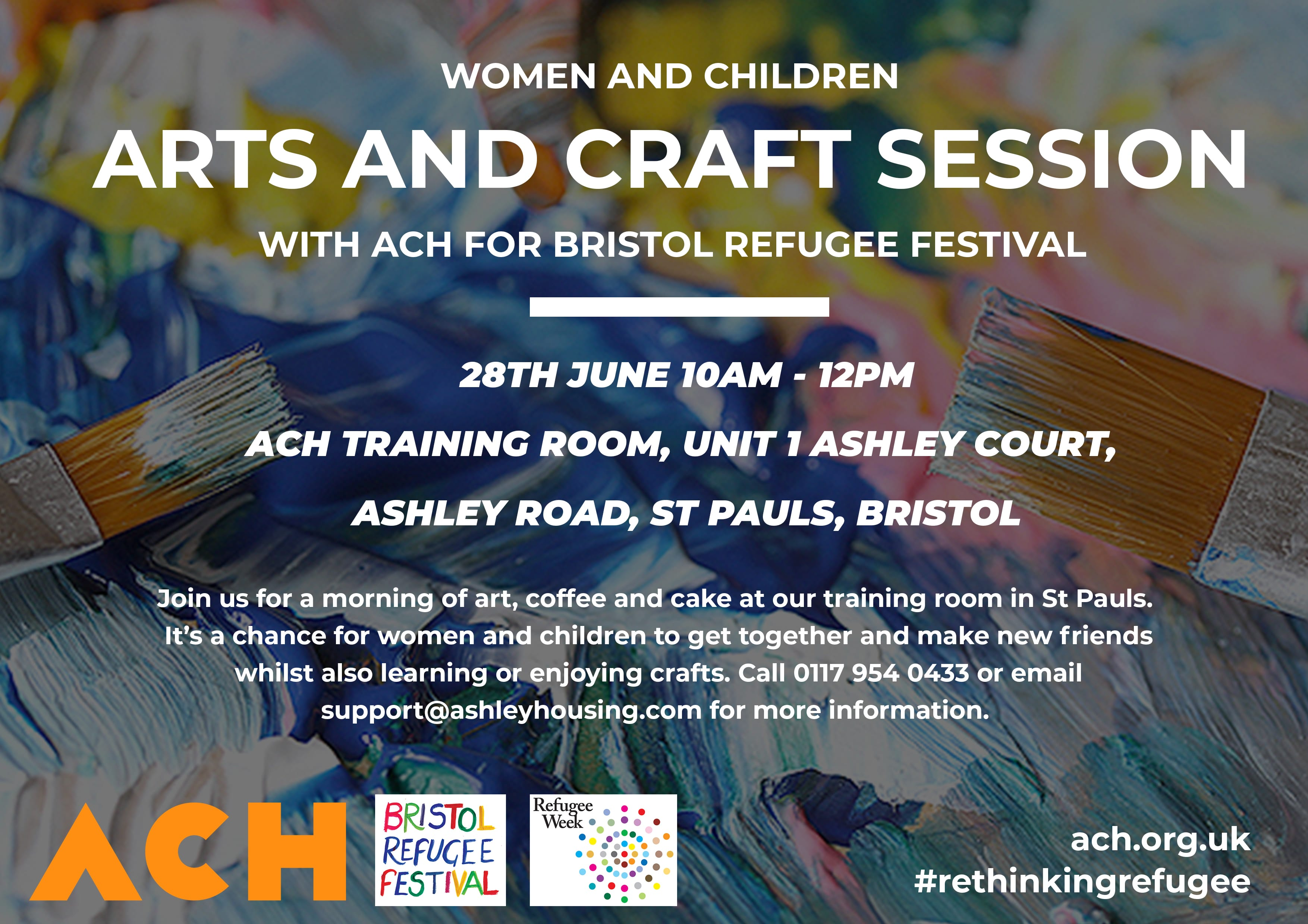 ACH arts and craft poster