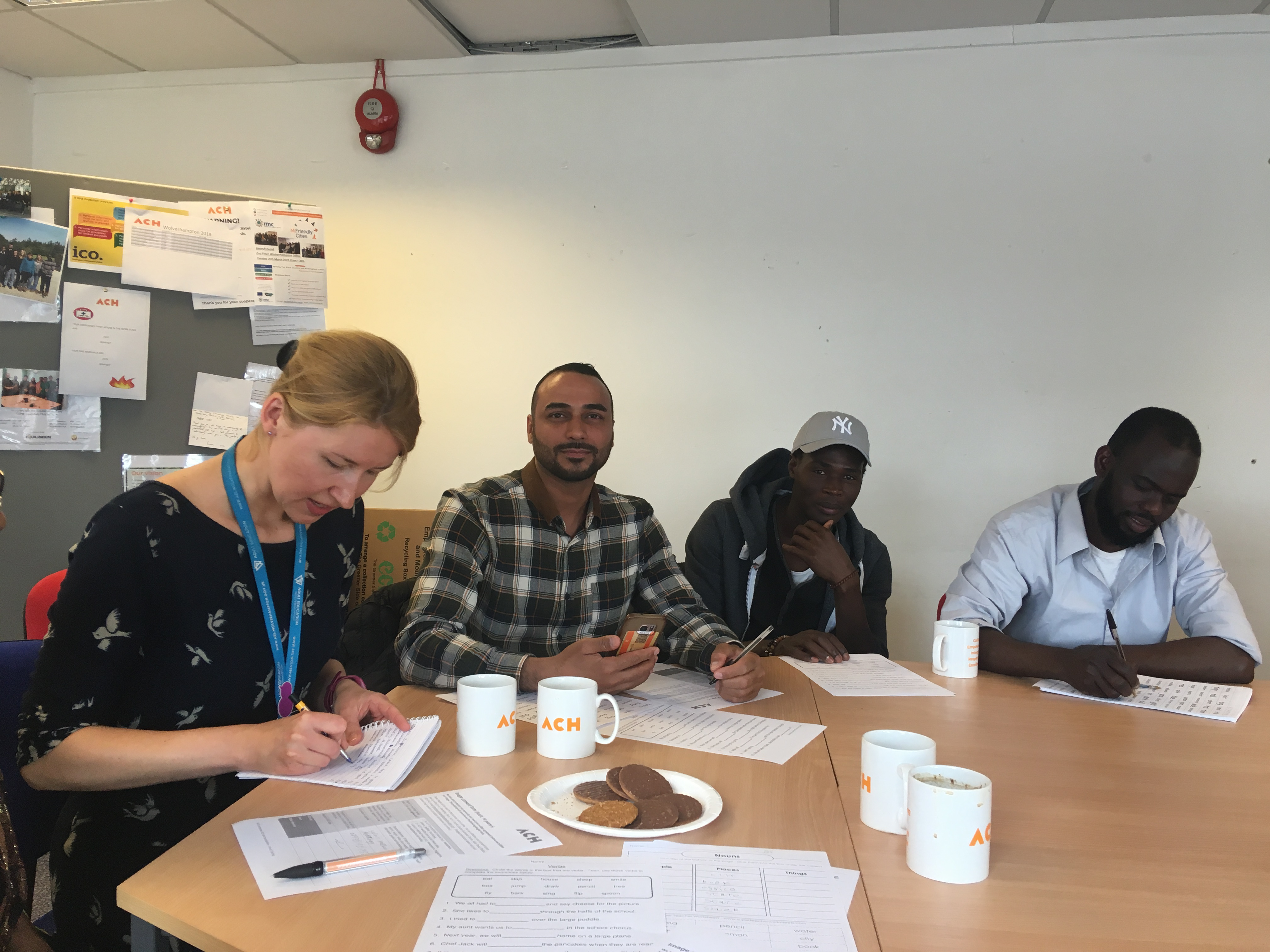 ESOL coffee morning ACH wolverhampton