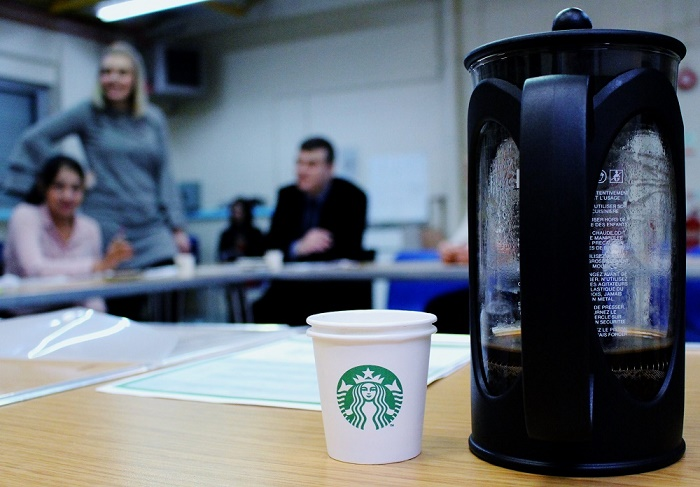 starbucks barista roles & employment training for refugees
