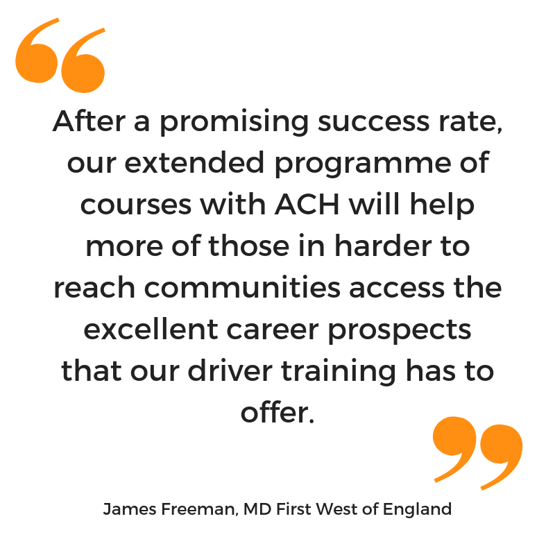 James Freeman quote on working with ACH