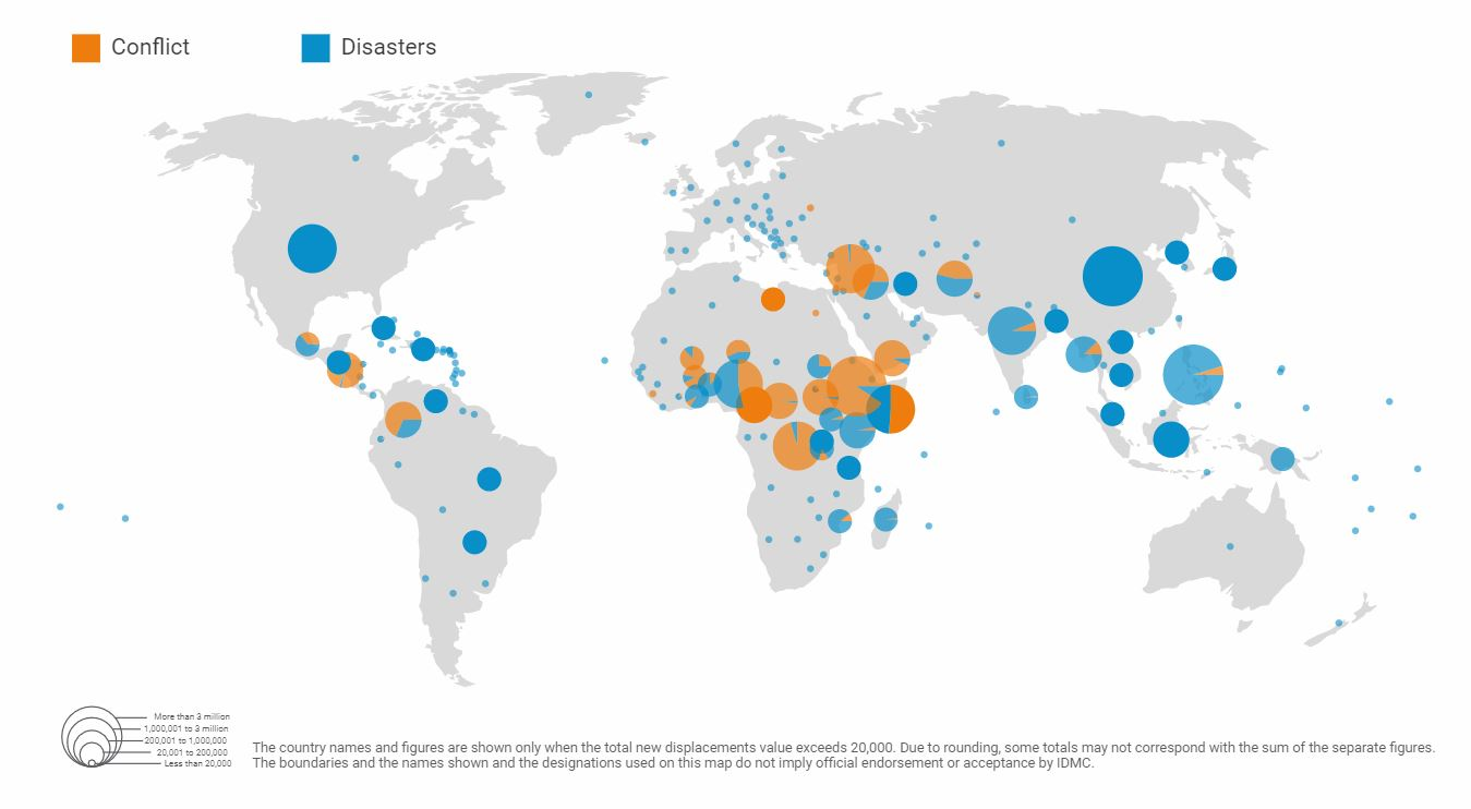 Climate refugee map: where is worst affected?