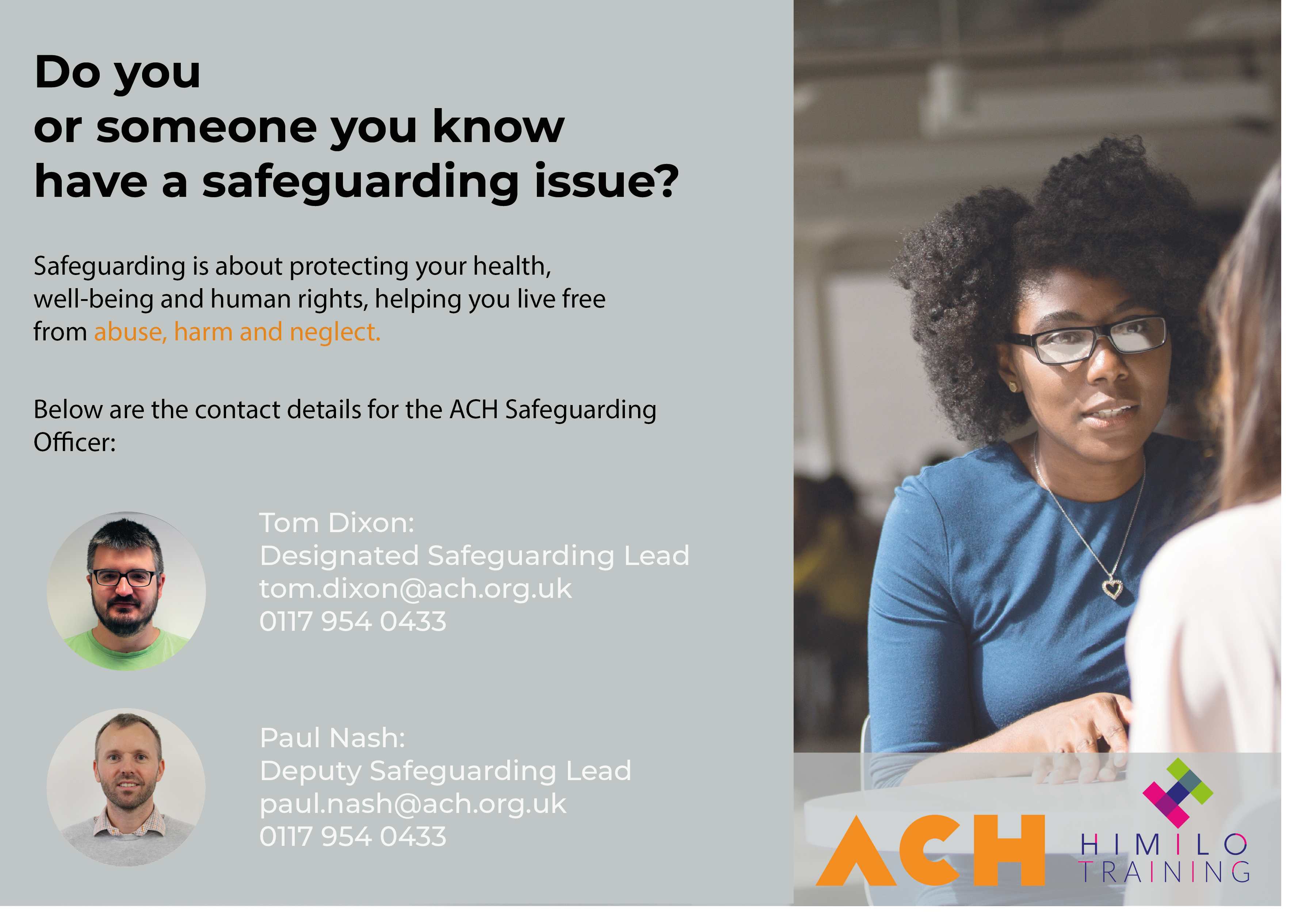 safeguarding poster