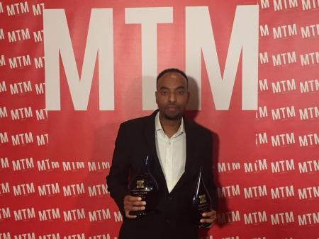 Fuad Mahamed wins Person of the Year at the MTM Awards 2018