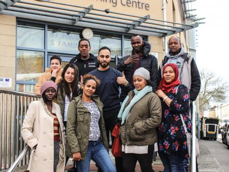 Asylum seekers BRR at St Pauls Learning Centre