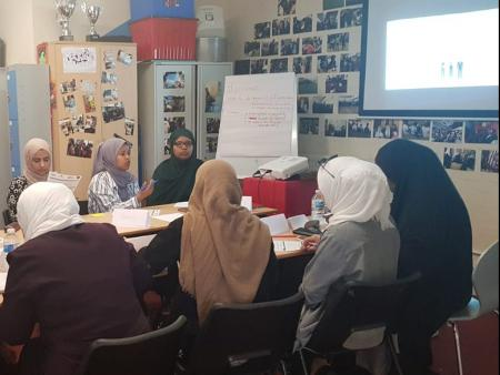food hygiene course for refugee learners