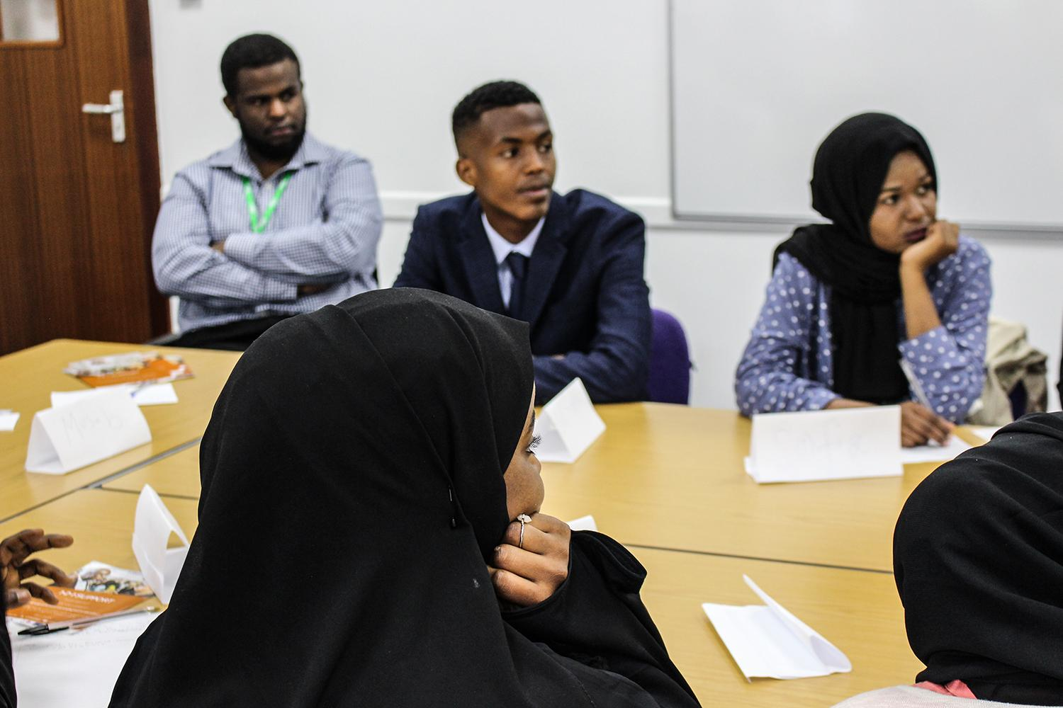 young refugee learners in Bristol