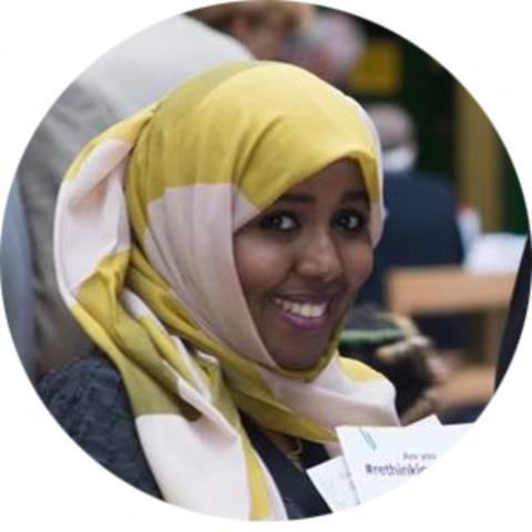 Asma Essa is our Wolverhampton Branch Manager and a refugee herself