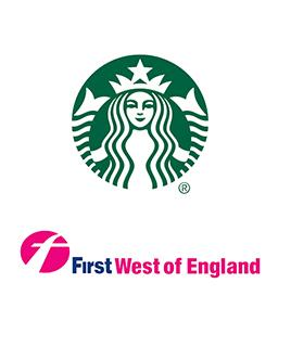 working in partnership with starbucks & first west of england